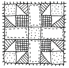quilt pattern clip art running shoes sketches black white quilt