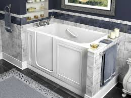 Bathtub To Walk In Shower Walk In Bathtubs Installation Cost Accessories And Pros And Cons