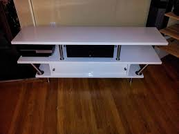 tv stand with space for center channel ikea hackers ikea hackers
