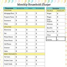25 unique monthly budget worksheets ideas on pinterest