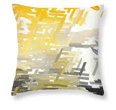 Grey Decorative Pillows Throw Pillows Using Yellow And Gray Teal Turquoise Red And Gray