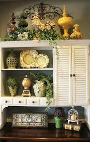 Top Of Kitchen Cabinet Decor Ideas Above Cabinet Decor Ideas Large Size Of Kitchen Decor Above