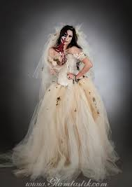 Zombie Halloween Costumes Adults Wedding Dress Zombie Bride Zombie Costume Zombie