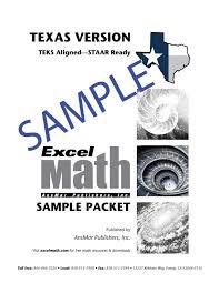 sample math lesson sheets excel math k 6 curriculum