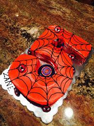 zanes spider man 5 cake u2013 cjbluecreates