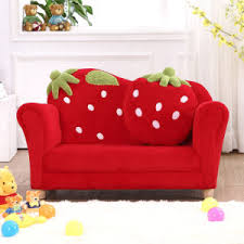 Childs Sofa Chair China Curved Strawberry Kids Sofa Chair Baby Furniture Sf 169