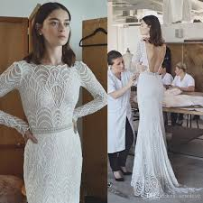 beaded wedding dresses lihi hod 2017 mermaid wedding dresses lace backless bridal
