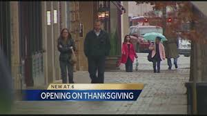 some shoppers don t want stores open thanksgiving day