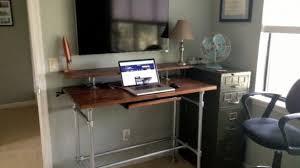 Standing Desk For Cubicle Best 25 Diy Standing Desk Ideas On Pinterest Standing Desks