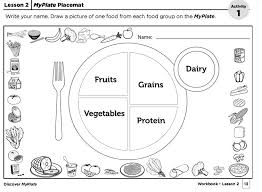coloring pages surprising myplate coloring page healthy plate