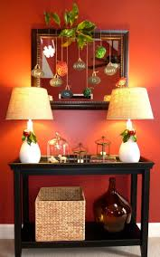 72 best pier 1 christmas images on pinterest christmas ideas fun and traditional christmas hallway decor using a pier 1 console table and seagrass basket