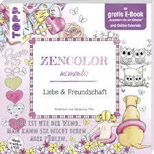 K Hen Online Auf Raten Kaufen Zencolor Moments Liebe U0026 Freundschaft Ausmalen U0026 Zencolor