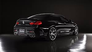 bmw black bmw 6 series gran coupe receives wald black bison body kit