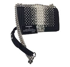limited edition chanel pearl boy bag limited edition baghunter