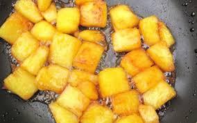 cuisiner l ananas recette ananas au caramel 750g