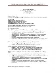 Masters Degree Resume Resume Examples High Graduate Template Inside Of Resumes 23