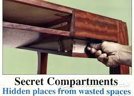 Woodworking Projects With Secret Compartments - secret compartment furniture furniture plans and projects