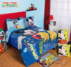 twin full size boys disney mickey mouse space comforter set