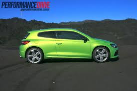 volkswagen scirocco r turbo 2012 volkswagen scirocco r review video performancedrive