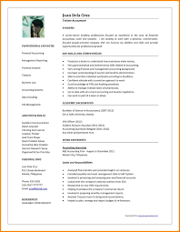 accountant resume template accounting resume sles in india new mbbs resume sle doctor