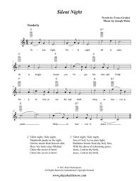 silent night for uke ukulele http playukulelenow weebly com