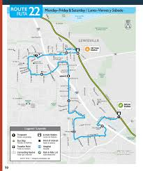 Walmart Map Route 22 Denton County Transportation Authority