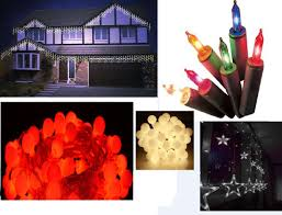 Ebay Christmas Lights Outdoor by Christmas Lights Indoor Outdoor Berry Icicle Xmas Lights Christmas
