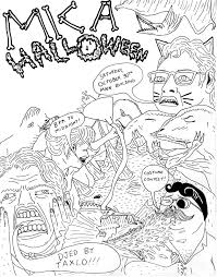 Drawings Of Halloween The Drawings Of Will Laren Mica Halloween Poster Design