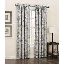 Double Panel Shower Curtains Sun Zero Curtains U0026 Drapes Window Treatments The Home Depot
