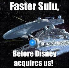 Star Wars Disney Meme - what we want from live action star wars and star trek tv shows