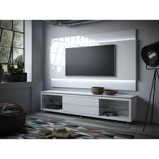 manhattan comfort lincoln white gloss floating wall tv panel 1 9
