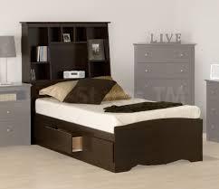 Single Bed With Storage Underneath Bedroom Appealing Kids Black Beds With Storage Underneath And