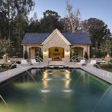 pool house unusual design ideas 12 open pool house plans home array