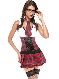 school girl costume costume women s plaid school girl costume