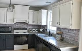 interior kitchen tile backsplash ideas with oak cabinets beige