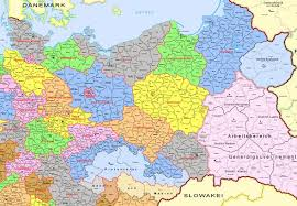 map of gemany map of germany and poland