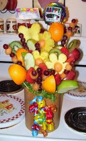 fruit arrangment how to make fruit arrangements from ediblecraftsonline