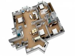 apartments architecture lanscaping decoration 3d floor plans
