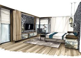 Sketch Interior Design Wall Textures And Floors Prospettive Progetti Pinterest Wall