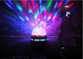mini disco ball light 3w e27 crystal magic ball led light effects stage lights rgb 360