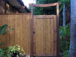 bamboo gate backyard ideas pinterest bamboo ideas backyard
