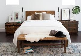 Bed Frames  Pottery Barn Bedroom Furniture Colette King Bed - Used crate and barrel bedroom furniture