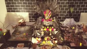 game of thrones theme decoration for ganapati festival 2017 youtube