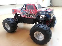 rc nitro monster truck unboxing basher nitro circus 1 16 mini monster truck rtr youtube