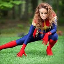 Captain Marvel Halloween Costume 65 Super Halloween Costumes Women Costume Yeti