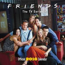 the official friends tv 2016 square calendar 9781780548302