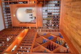flooring options for a distinct custom wine cellar design