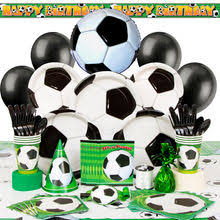 soccer party supplies soccer