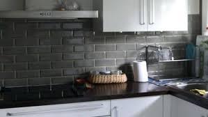 cuisine carrelage metro cuisine carrelage metro noir la cuisine la credence cuisine