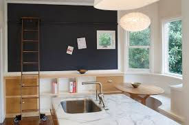 contemporary kitchen with pendant light by martinkovic milford